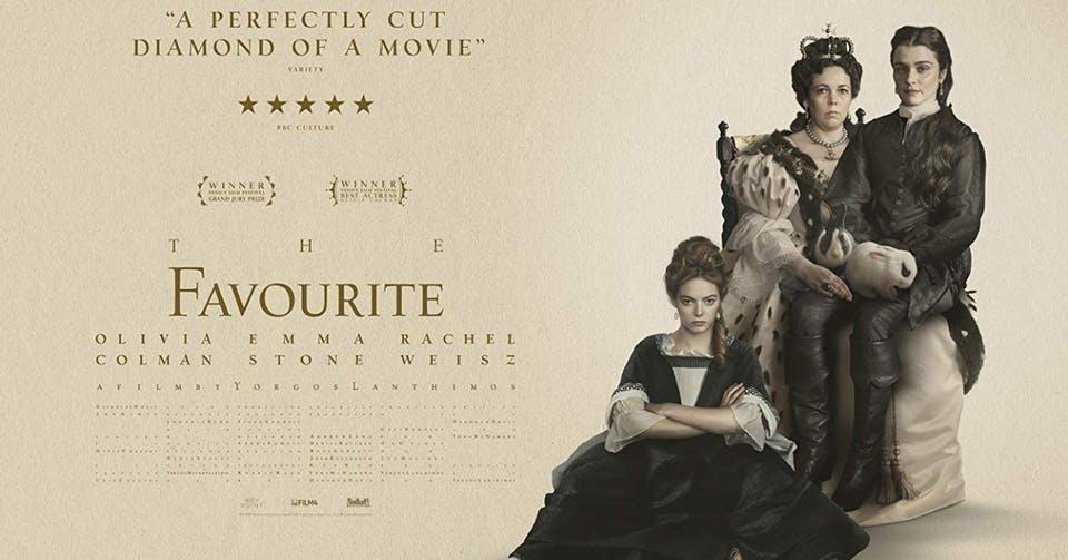 映画「女王陛下のお気に入り」