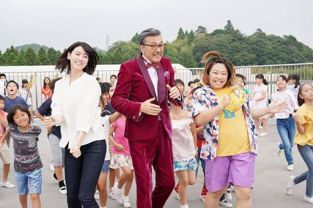 映画ダンスウィズミーの三吉彩花・高田明・やしろ優