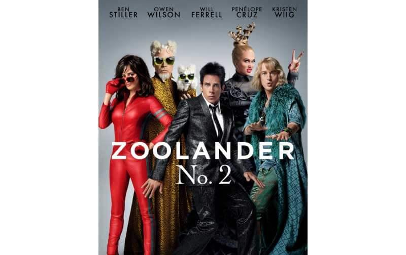 映画『ズーランダーNO.2』あらすじと感想。ジャスティン・ビーバー等がカメオ出演
