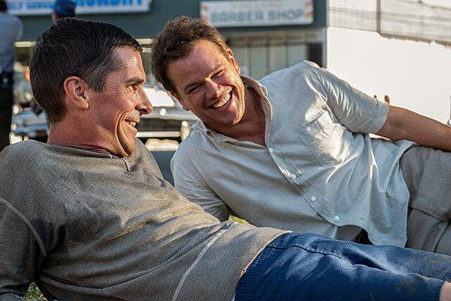 映画フォードvsフェラーリの主演:マット・デイモンとクリスチャン・ベール
